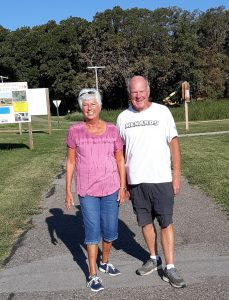 Delna and Bob Mulhair
